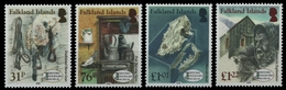 Falkland 2016 - Mi-Nr. 1302-1305 ** - MNH - Nationalmuseum In Stanley - Falkland Islands