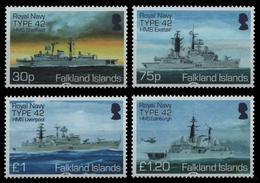 Falkland 2014 - Mi-Nr. 1262-1265 ** - MNH - Schiffe / Ships - Falkland Islands
