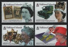 Falkland 2015 - Mi-Nr. 1282-1285 ** - MNH - Queen Elizabeth II - Falkland