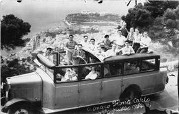 BUS-AUTOCARS-CARTE-PHOTO,MONACO, MONTE CARLO - Buses & Coaches