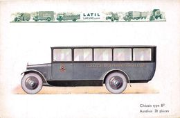 BUS-AUTOCARS-20 PLACES- CHÂSSIS TYPE B2 - Busse & Reisebusse