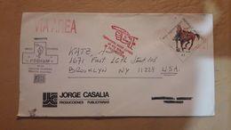 Enveloppe De L'Argentine Distribuée Avec Le Timbre Du Sport équestre - Argentina
