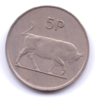 IRELAND 1969: 5 Pence, KM 22 - Ireland