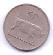 IRELAND 1969: 5 Pence, KM 22 - Irlanda