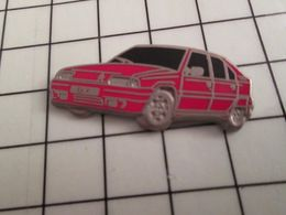 115e Pin's Pins / Rare Et De Belle Qualité !!! THEME AUTOMOBILES / En Léger Relief CITROEN BX ROUGE Par DECAT - Citroën