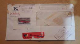 Enveloppe Du Chili Diffusée Avec Un Timbre D'avion - Chile