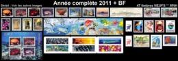 POLYNESIE Année Complète 2011 + BF (NEUF ** MNH) : Yv. 935 à 977 Dont 2 Carnets + BF 37  (47 Tp)  ..Réf.POL25079 - Polynésie Française
