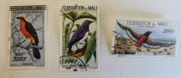 MALI - 1960 - Poste Aérienne - Y&T N°2-3-4  -Trés Bon état - Oblitérés - Sur Charnière - Mali (1959-...)