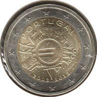 PO20012.1 - PORTUGAL - 2 Euros Commémo. 10 Ans De L'euro - 2012 - Portugal