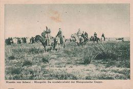 Mission Dans La Steppe - Mongolie