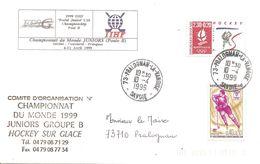 1999 Championnat Du Monde Juniors De Hockey Sur Glace: Pralognan (France) - Hockey (sur Glace)