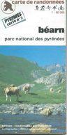 """Carte """"Randonnées Pyrénéennes"""" N° 3 : BEARN - 1/50 000ème - 1990. - Mapas Topográficas"""