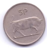 IRELAND 1974: 5 Pence, KM 22 - Irlanda