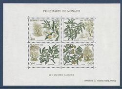 Monaco - Bloc YT N° 43 - Neuf Sans Charnière - 1988 - Blocs