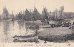CONCARNEAU, France,1910-1920s, La Cale Et Les Thoniers - Concarneau