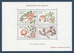 Monaco - Bloc YT N° 44 - Neuf Sans Charnière - 1989 - Blocs