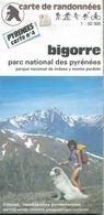 """Carte """"Randonnées Pyrénéennes"""" N° 4 : BIGORRE - 1/50 000ème - 1989. - Cartes Topographiques"""