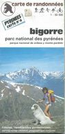 "Carte ""Randonnées Pyrénéennes"" N° 4 : BIGORRE - 1/50 000ème - 1989. - Mapas Topográficas"
