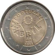 PO20014.1 - PORTUGAL - 2 Euros Commémo. Révolution Des Œillets - 2014 - Portugal