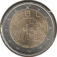 PO20015.2 - PORTUGAL - 2 Euros Commémo. Anniv. Croix-Rouge Portugaise - 2015 - Portugal
