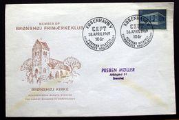 Denmark 1969   CZ. Slania FDC   EUROPA   MiNr. 479  ( Lot  Ks  ) - FDC
