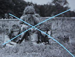 Photox3 ABL Crica 195-60 Mortier Radio De Campagne Mitraillette Sten Belgische Leger Armée Belge Miitaria - Guerre, Militaire