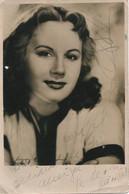 "ARTIST - Pretty WOMAN Argentinian Actress ""unidentified"" ... GALLO ? W. Autograph Hand Signed - Photo 17x11cm 1950' - Dédicacées"