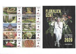 2020 Gentse Floralien - Floralies Gantoise Flora Sheet MNH !!!! - Belgique
