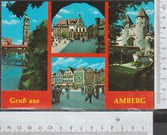 Gruß Aus Amberg 4 Ansichten Ungelaufen  ( AK 914 ) - Amberg