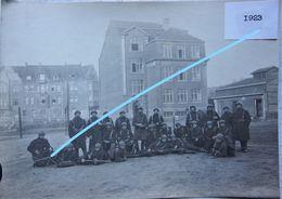Photox2 OSTERFELD Near Oberhausen Duisburg Belgian Army Occupation Roer 1923 Belgische Leger ABL - War, Military