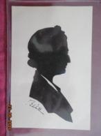 Découpis - Silhouette Femme - Signé Bich - Victorian Die-cuts