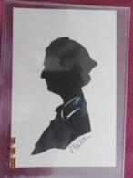 Découpis - Silhouette Femme - Signé Bich - Découpis