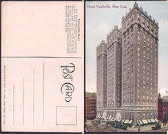 New York NY - Post Card - Vanderbilt Hotel - Circa 1920 - Non Circulee - Cygnus - Manhattan