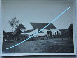 Photo KNOKKE LE ZOUTE 1921 Kust Oude Huis Hoeve ? Ferme ? - Plaatsen