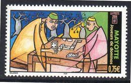 MAYOTTE 0169 Jeu De Dominos, Baobab - Games