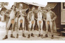 Army Military Soldiers Recruit  Repro! Male Nude Men Guys - Armée Militaire  Soldats Hommes  - Torse Musclé Nu Jock - Nu Masculin < 1945