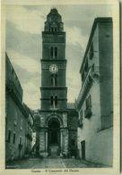 GAETA ( LATINA ) IL CAMPANILE DEL DUOMO - EDIZIONE MANZI - SPEDITA 1930s ( BG4468) - Latina