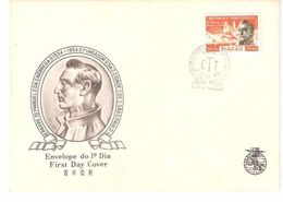Macau, 1954, FDC # 385, - Macao