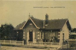 CPA 40 Landes Sanguinet Villa Antoinette 1913 - Autres Communes