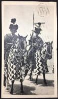 #CPA62 - Publicité - IONYL -  La Biomarine - CAMEROUN Cavaliers  - 1953  - Timbres Cameroun 3 F Et 2 F - Werbepostkarten