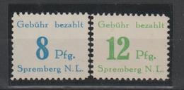 Spremberg 23 Und 24 A, ** (MNH) - Germany
