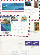 POLYNESIE FRANCAISE LOT DE 4 LETTRES AVION - Polynésie Française