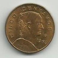 Mexico 5 Centavos 1968. KM#426 - Mexico