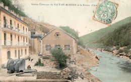 Station Electrique Du Saut-du -Mortier Et La Riviére D'Ain - Autres Communes