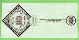 "Etiquette Du Champagne  ""    Vve  ELEONORE - Champagne"