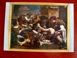 (FG.X27) FRANCESCO BARBIERI Detto IL GUERCINO - IRENE SOCCORRE SAN SEBASTIANO (BOLOGNA, PINACOTECA NAZ.) NV - Pintura & Cuadros