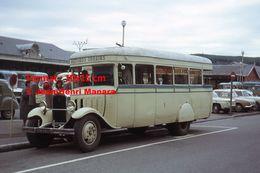 ReproductionPhotographie D'une Vue D'un Bus Urbain à Lourdes En 1963 - Reproductions