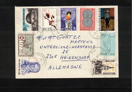 Belgium 1983 Interesting Letter - Belgium