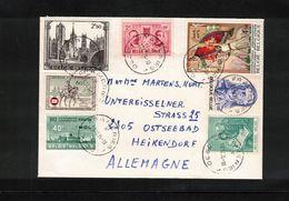 Belgium 1984 Interesting Letter - Belgium