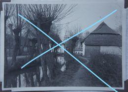 Photo GRIMBERGEN  Circa 1925 Moulin Tommenmolen La Molenbeek Oude Hoeve - Lieux